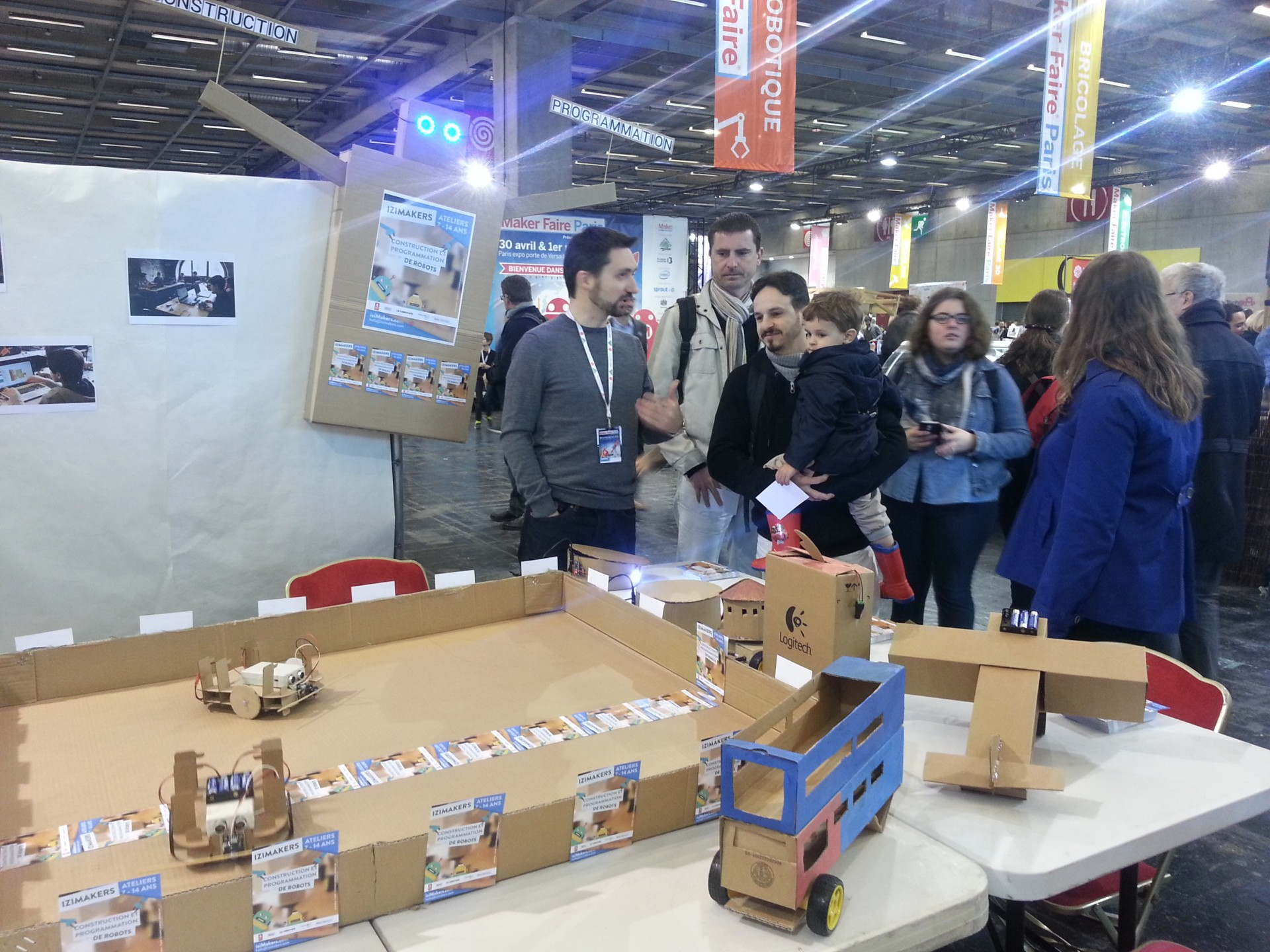 Maker Faire Paris - Stand iziMakers